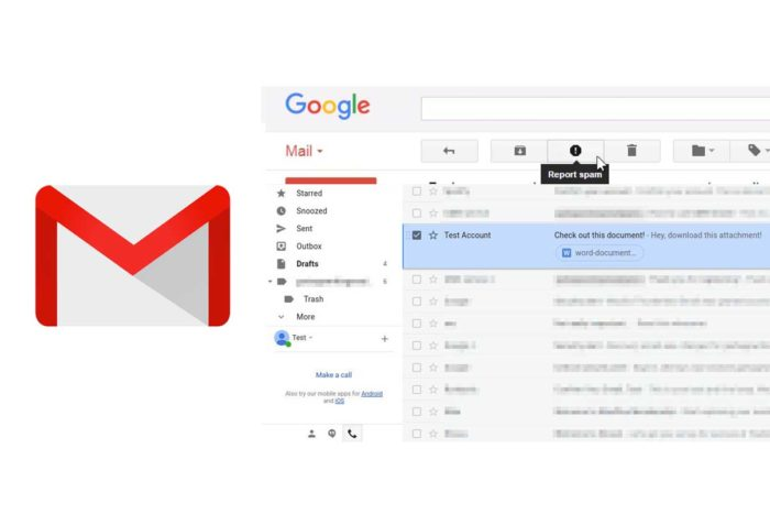 Gmail Spam Report - Spam Report on Gmail