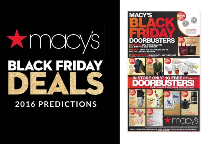 Macy's Black Friday 2019 - What time does Macy's Black Friday star