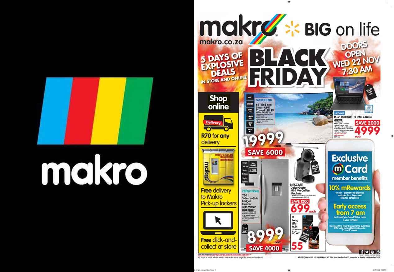 Makro Black Friday Deals - Christmas Shopping