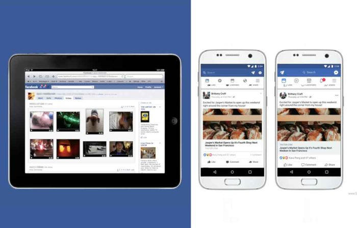 Facebook Mobile - Facebook Desktop Version