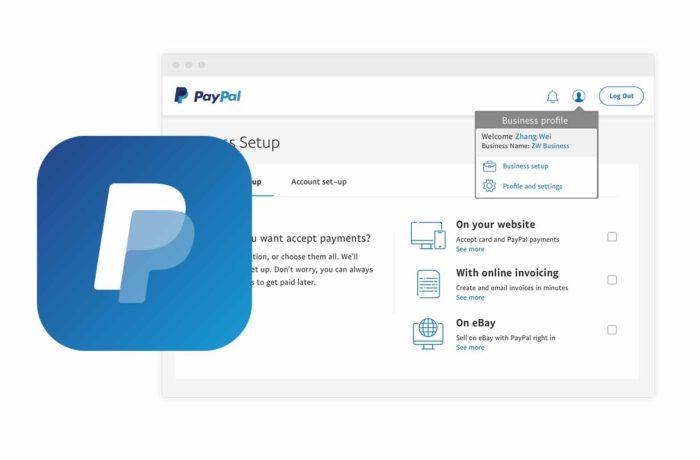 Set Up PayPal - Set Up Paypal Account