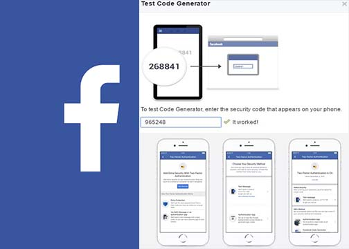 Facebook Code Generator - How Do I Find My Facebook Code Generator