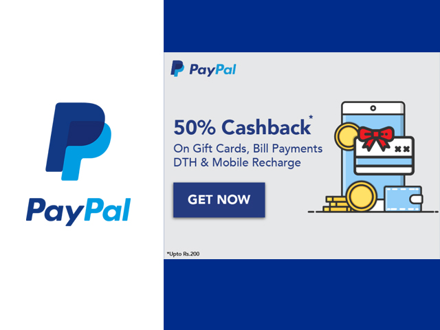PayPal Offers - PayPal Coupon Code | PayPal Cashback Offer