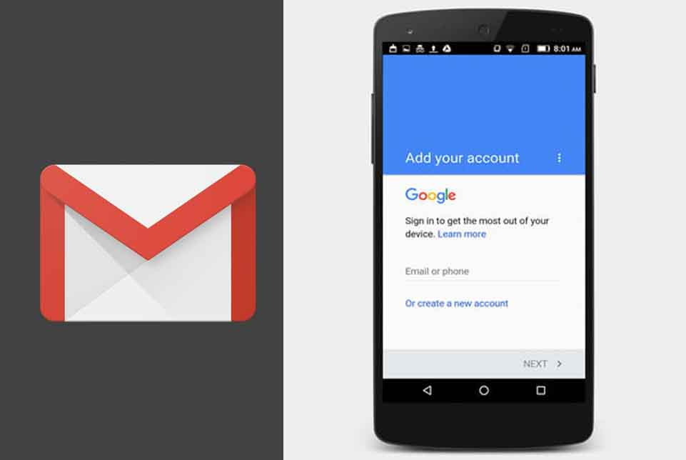 Gmail Mobile Sign Up – Create Your Google Account