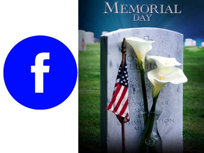 Facebook Memorial Day - Memorial Day Ceremony on Facebook Live   Memorial Day Ceremony