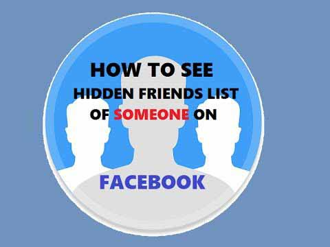 How to See Hidden Friends List - All Friends on Facebook