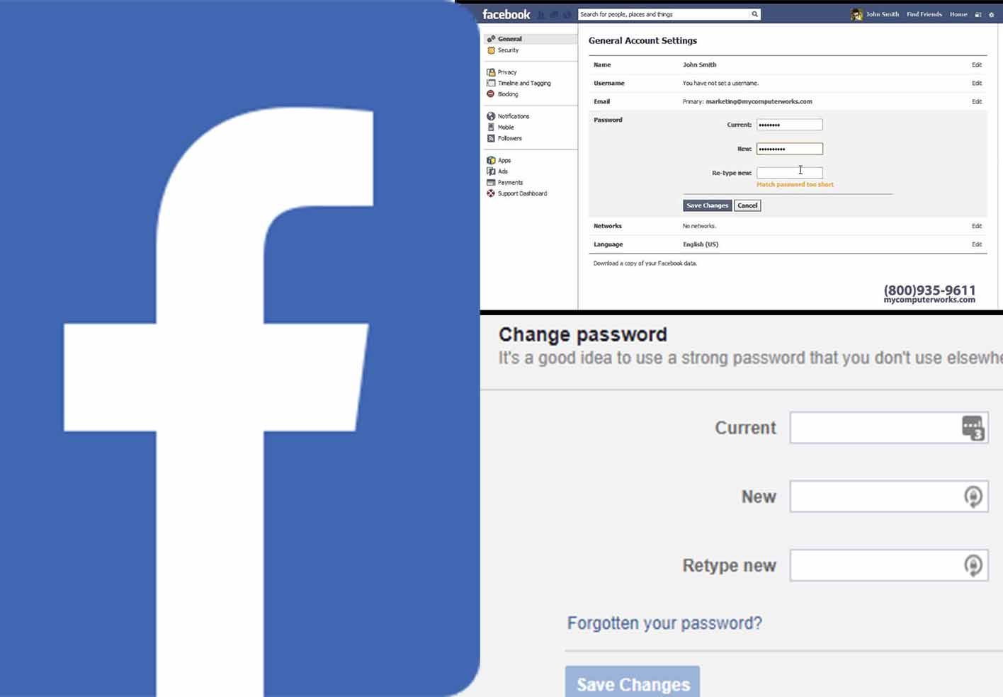 Facebook Password Reset Code – Change my Password for Facebook | Facebook Password Change