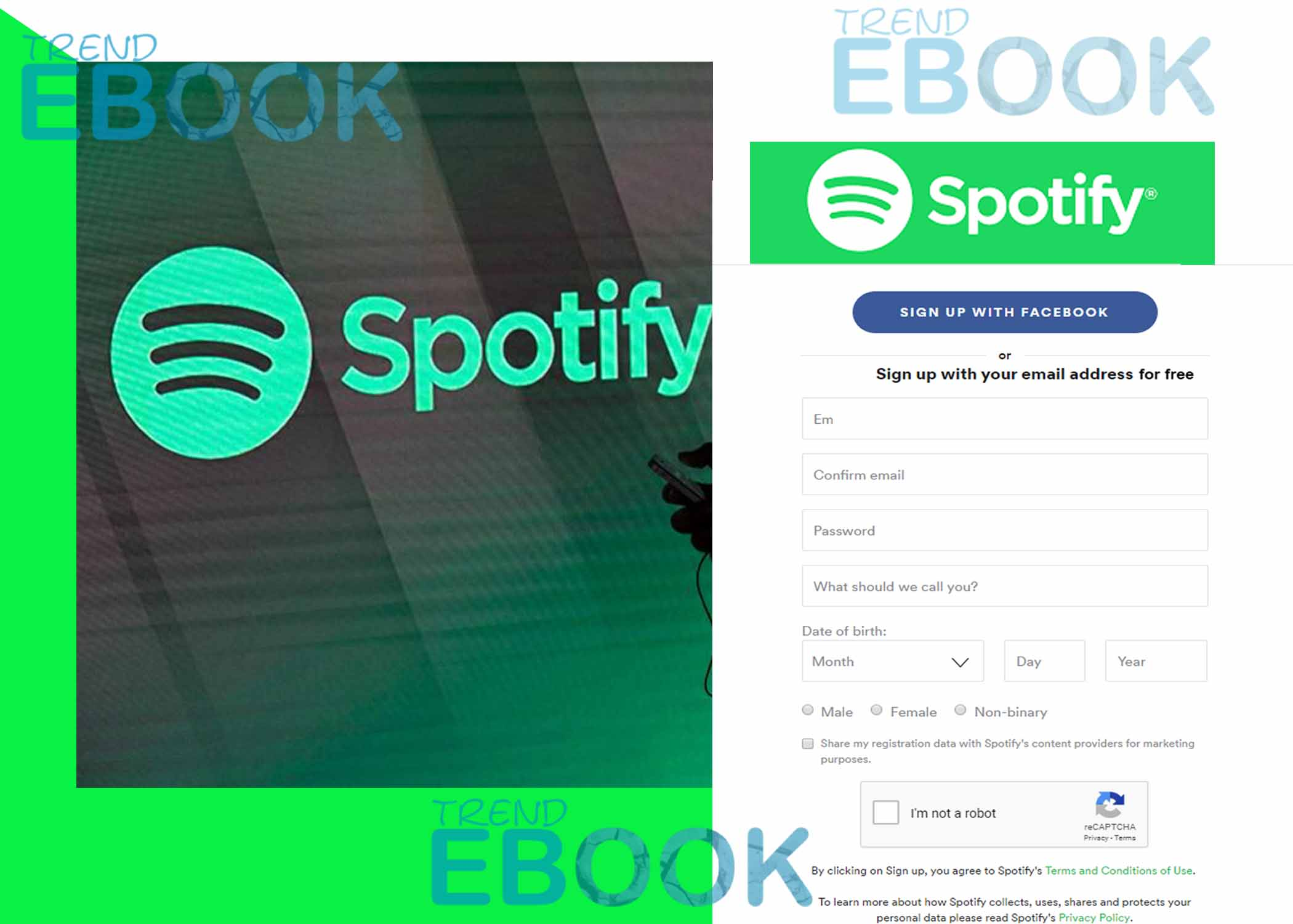 Spotify Account – How to Sign up For a Free Spotify Account