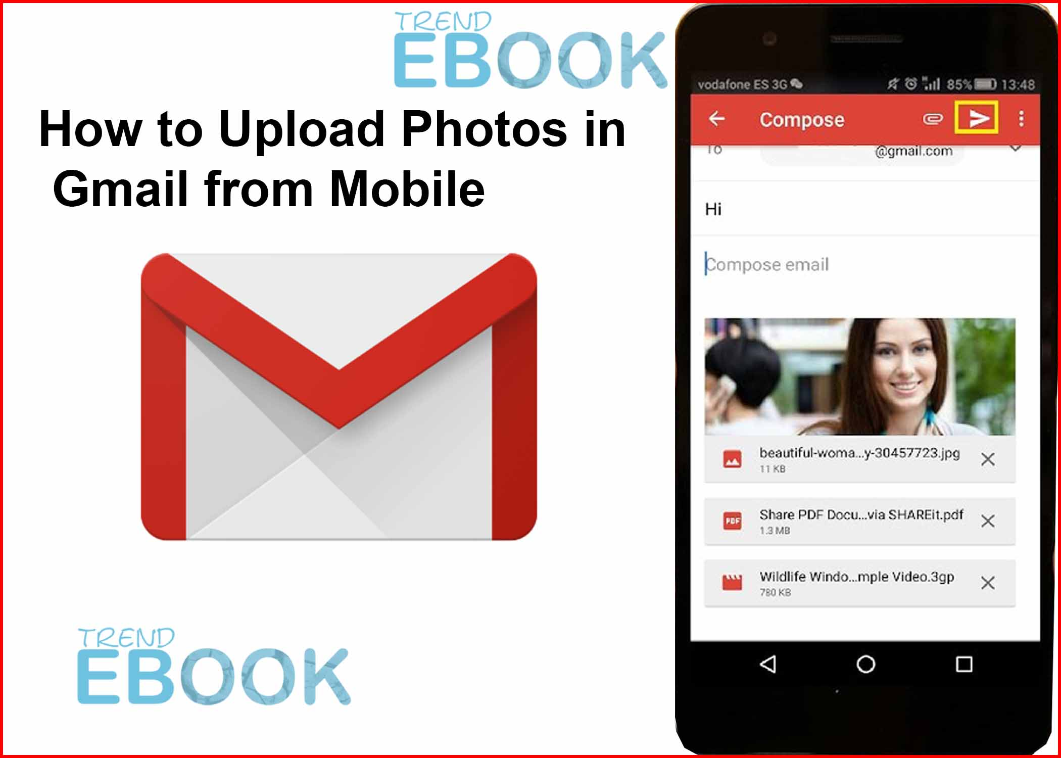How to Upload Photos in Gmail from Mobile – Gmail Profile Photos