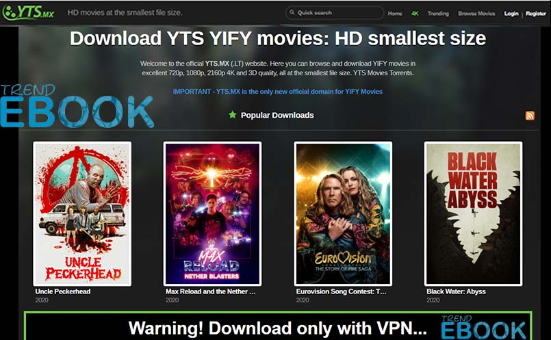 YTS Movies – YIFY Movies Online Download | YTS Movie Download
