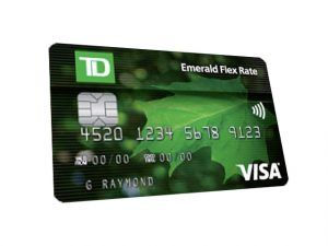 Emerald Flex Rate Credit Card - Apply for a TD Emerald Flex Rate Visa Card