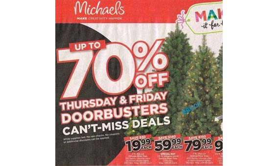 Michaels Black Friday - Michaels Black Friday 2020 Ads And Deals | Shop Christmas Items on micheals.com