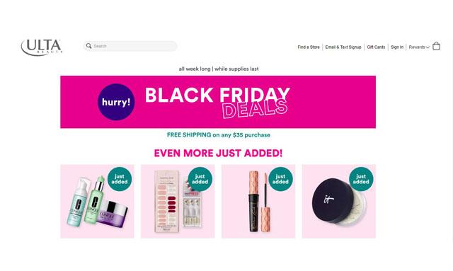Ulta Black Friday 2020 - Find Best Black Friday Deals with Ulta