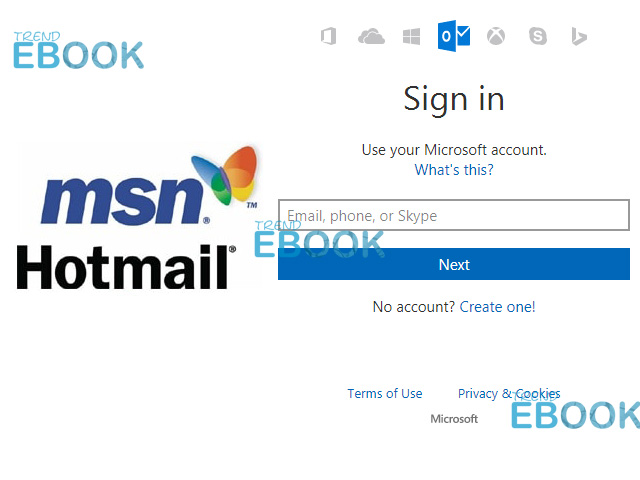 Sign my into account t email i can msn Can't sign