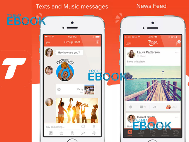 Tango - Live Video Broadcasts and Messaging App | Tango Online  Application