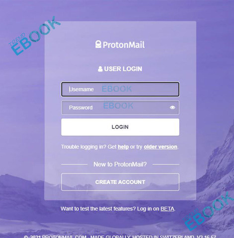 ProtonMail Login -  Login to ProtonMail Email Account   ProtonMail Sign in