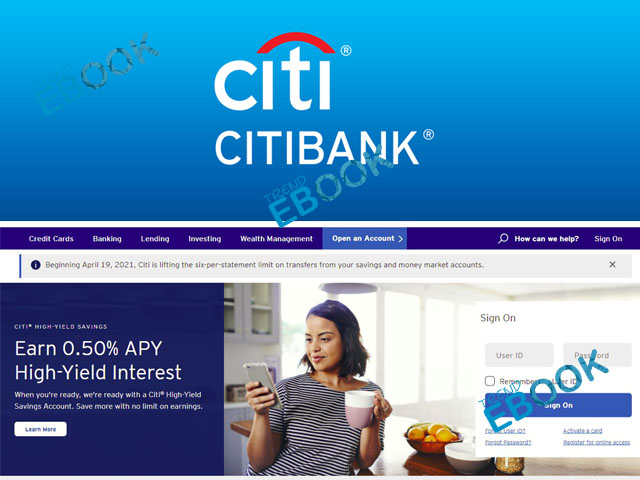 Citi Bank Online - How to Open a Citi Bank Online Banking