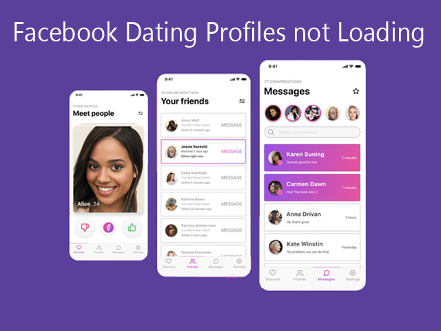 Facebook Dating Profiles not Loading:  Facebook Dating Free for Singles | Facebook Sparked