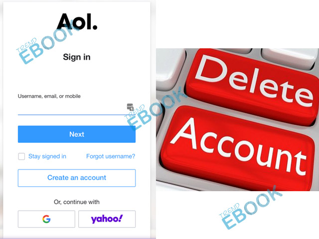 How to Delete AOL Email Account