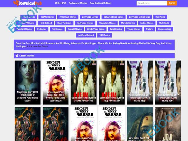 Downloadhub - Watch, Download Bollywood Movies, Hindi Dubbed, & Hollywood Movies