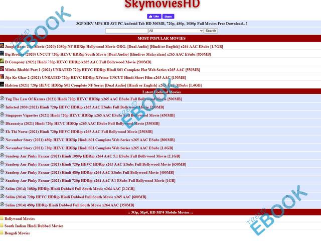 SkymoviesHD - Watch, Download Hollywood Hindi Dubbed Movies, Bollywood Movies & SkymoviesHD Web Series