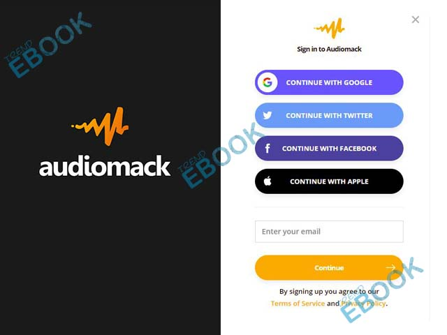Audiomack Login - How to Log into Audiomack