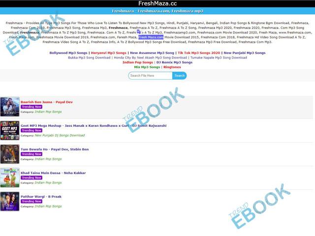 Freshmaza - Free Bollywood MP3 Songs Download 2020/2021