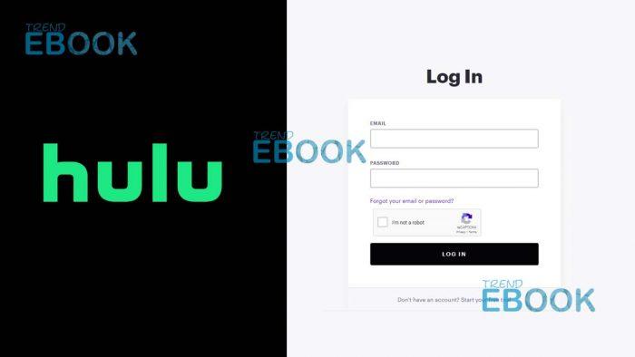 Hulu Login - How to Login to Hulu Account