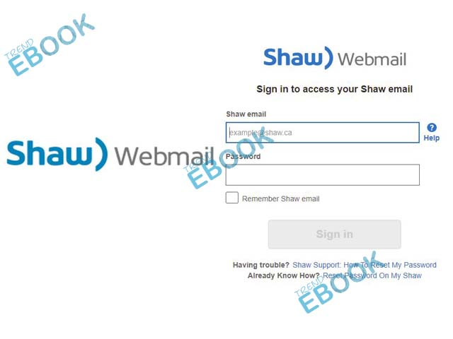 Shaw Webmail - How to Create Shaw Email | Shaw Webmail Login