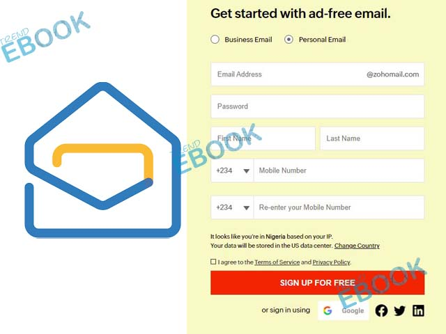 Zoho Mail Sign up - How to Create a New Zoho Email Account