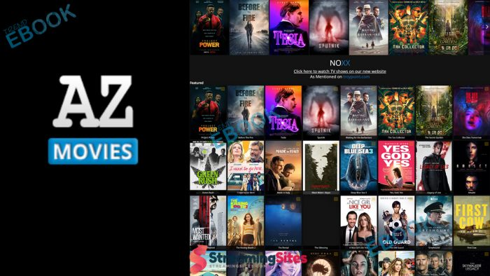 AZ Movies - Watch Movies from A to Z on AZMovies.net