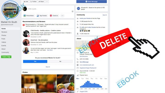 Delete Facebook Business Page - How to Delete Facebook Business Page | Delete Facebook Business Account
