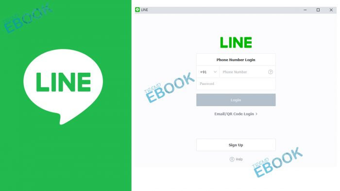 LINE Sign up - How to Create Line Account