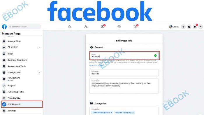 Change Facebook Name - Facebook User Profile   Facebook Username