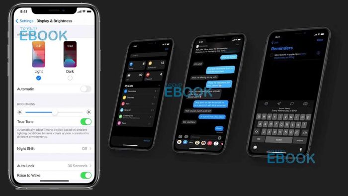 Dark Mode iPhone - Use Dark Mode on your iPhone, iPad, or iPod touch