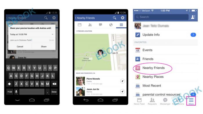 Find Nearby Friends on Facebook - Facebook Search Bar By Location   Friends on Facebook