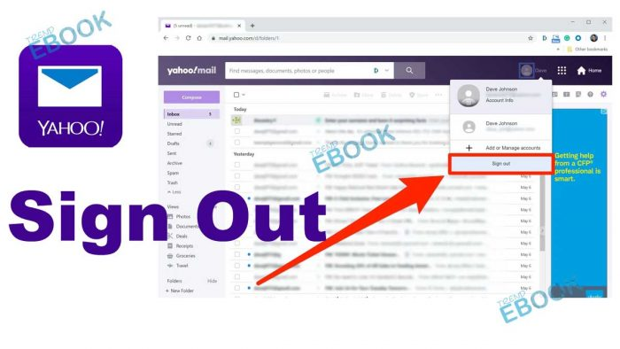 Yahoo Mail Sign Out - How to Sign out of Yahoo Mail Account