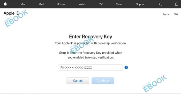 Apple Recovery Key: How to Set up an Apple ID Recovery Key