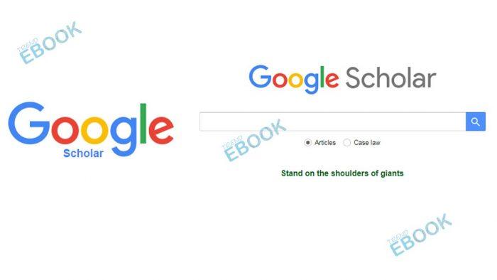 Google Scholar - How to Use Google Scholar Search Engine