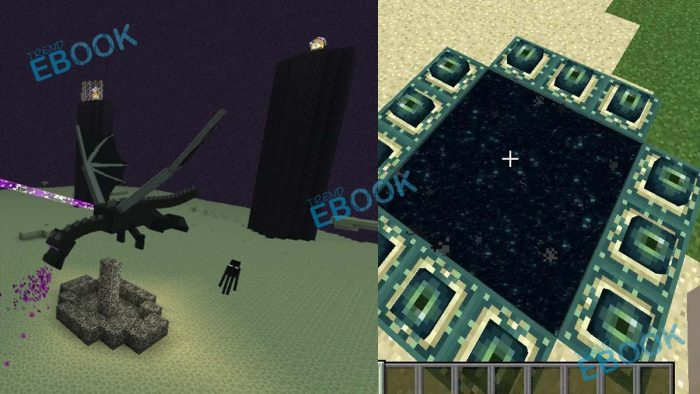 How To Make End Portal In Minecraft To Take On The Ender Dragon