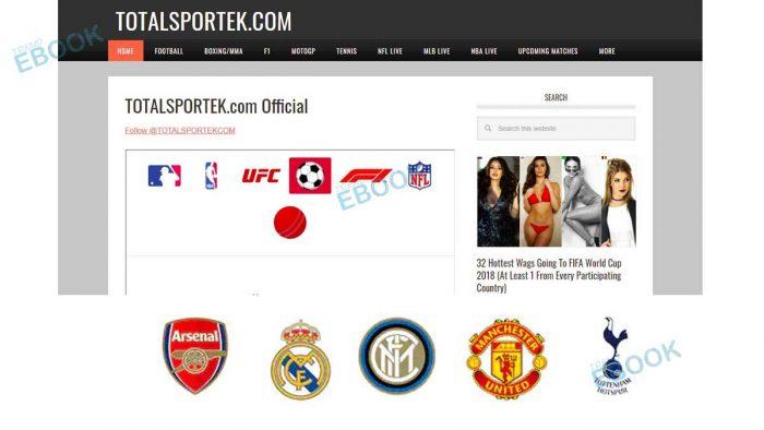 TotalSportek - Stream Live Match on TotalSportek.com