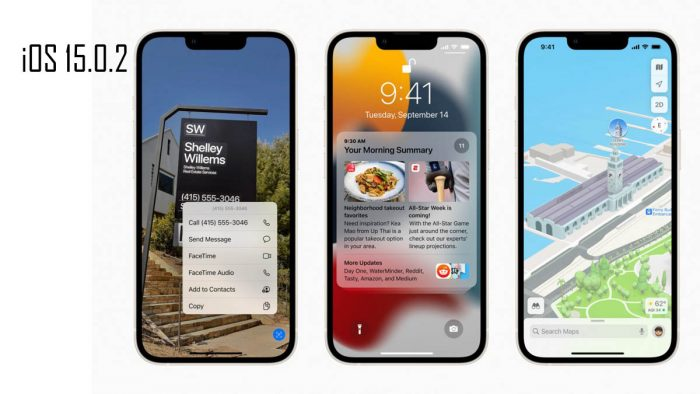 Apple releases iOS 15.0.2 because of security exposure