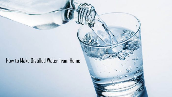 How to Make Distilled Water from Home